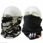 REVERSIBLE CAMOUFLAGE THERMAL NECK WARMER SKI HAT HIKE