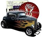 1932 Ford Deuce Hot Rod Coupe Short Sleeve T-shirts