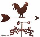 SWEN Products ROOSTER COCK CUCKOO CHICKEN Steel Weathervane