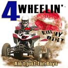 "Girls "" 4 WHEELIN' AIN'T JUST FOR BOYS "" 50/50 Gildan/Jerzees T SHIRT"