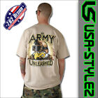 7.62 DESIGN T-SHIRT SHIRT UNLEASHED ARMY WETSAND NEW