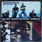 NICKELBACK The Long Road PROMO 2Side Poster CHAD KROEGER Figured You Out SOMEDAY