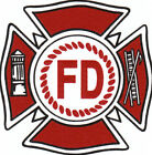Ceramic Decals Fire Department Emblem image
