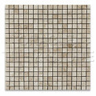 Cappuccino Marble 5/8 X 5/8 Polished Mosaic Tile Mesh