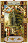FLORIDA WATER THE GENUINE MURRAY & LANMAN PERFUME FOUNTAIN VINTAGE POSTER REPRO