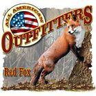 "All American "" RED FOX "" 50/50 Gildan/Jerzees T SHIRT"
