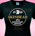 SKINHEAD SKA REGGAE - ROCKSTEADY -SPIRIT Of 69 - Ladies Cotton T-Shirt