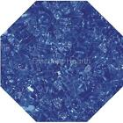 "Cobalt 1/4"" Fireglass Fire Glass Fire Pit Fireplace Glass Crystals Gas Logs"
