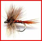 March Brown Fly Fishing Flies -Twelve Premium Flies with Choice of Hook Size