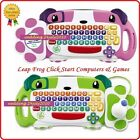 ✿ LEAPFROG CLICK START MY 1st COMPUTER GAME CARTRIDGES & CONSOLE + SCART ADAPTER