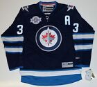 DUSTIN BYFUGLIEN WINNIPEG JETS REEBOK PREMIER HOME JERSEY $179.99 USD on eBay