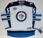 MARK SCHEIFELE WINNIPEG JETS REEBOK PREMIER AWAY JERSEY