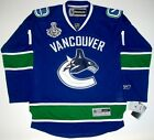 ROBERTO LUONGO VANCOUVER CANUCKS STANLEY CUP JERSEY 11