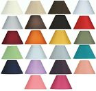 Oaks Lighting 8 Inch Cotton Coolie Hard Lined Lamp Shade Rainbow of Colours S501