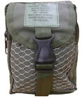 Army Military Combat Utility Zip Pouch Bum Bag Phone Camera Ammo Travel Green