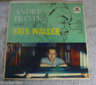 Andre Previn Plays Fats Waller LP Tops L-1593 Ain't Misbehavin' Black and Blue