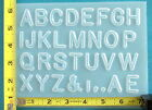 Numbers Letters Clock Face Alphabet Resin Craft Mold Mould resin jewelry
