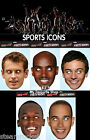 SPORTS CELEBRITY FACE MASK Fancy Dress Party Athletics Cycling