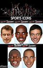 SPORTS CELEBRITY FACE MASK Fancy Dress Party Athletics Cycling Formula 1