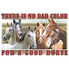 No Bad Color For A Good Horse  Tshirt  Sizes/Colors