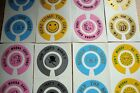 BOWLS STICKERS 12  QUALITY CROWN GREEN  INDOOR & FLAT GREEN 6 FINGER + 6 THUMB