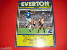 1978/79 EVERTON HOME PROGRAMMES