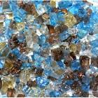 "Cabana Bay 1/4"" 1-120 lbs Fireglass Fire Glass Fire Pit Fireplace Crystals Logs"
