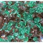 "Rain Forest 1/4"" 1-120 lbs Fireglass Fire Glass Fire Pit Fireplace Crystals Logs"