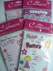 20 Party INVITATIONS & Envelopes - BIRTHDAY GIRL - PINK {Fixed £1 UK p&p}{HB PI}