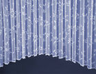 VERMONT JARDINIERE FLORAL NET CURTAIN - MULTIPLE SIZES AVAILABLE