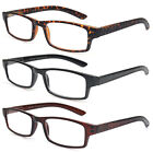 Mens Women Rubber Coated Frame Grip Reading Glasses Black Navy Red Many Strength