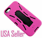 Wholesale 6 Pack New Fashion Kickstand Shell Holster Combo Case for iphone 5