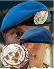 NEW Official UN Cap Badge + Beret All Sizes ( United Nations Sky Light Blue