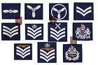 PAIR of Official Royal Air Force Rank Slides  All Ranks RAF (SAC LAC aircrew etc