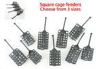 Cage feeders  Square-Choose of sizes for carp,tench,groundbait Fishing