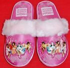 NEW Girl's Youth's HIGH SCHOOL MUSICAL Pink Slip On Casual Slippers House Shoes