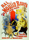 2124 Bal au Moulin Rouge Art Decoration POSTER.Graphics to decorate home office.