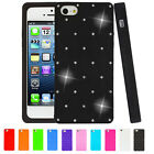 Diamond Star Series Silicone Gel Case Cover For iPhone 5 5G + Screen Protector