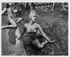 Busty leggy dancer babe VINTAGE Photo Sepent Of The Nilee