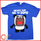Domo Kun T Shirts Never Say No Domo in Panda Adult  4 Size -Licensed