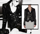 AUTHENTIC TRENDY ARMANI COLLEZIONI JACKET BLAZER BLACK