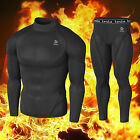 Mens Compression Sports Under Gear Top & Pant TwinPack S,M,L,XL,2XL T22P23BB