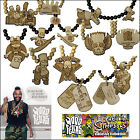 MD WOOD FELLAS THE SIMPSONS LTD ECHT HOLZ HALSKETTE MIT ANHÄNGER NECKLACE KETTE