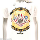 m180w Minute Mirth T-shirt Sz S M L XL Tattoo VTG LIMITED EDITION Shark Jaw Indy