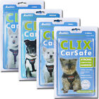 Clix Car Safe Dog Puppy Travel Seat Belt Clip Safety Harness Xs Small Med Large