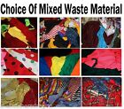Scrap Pieces Craft Material 4 Rag Rugs Art Bags Raggy Dolls Clothes