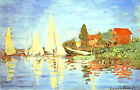Photo/Poster - Regata At Argenteuil - Monet Claude 1840 1926