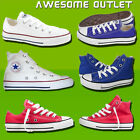 All Star Converse Hi Lo Pump Top Kids Chucks Canvas Fashion Shoes UK Size Uk