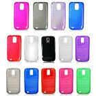 For Samsung Galaxy S2 Hercules T989 T-Mobile Cover Rubber Gel TPU Cell Accessory