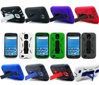 For Samsung Galaxy S2 Hercules T989 Cover Double Layer Kickstand Accessory Case